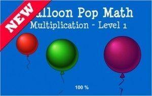 Juego multiplicacion globos