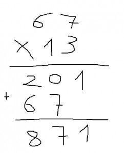 multiplicar dos cifras