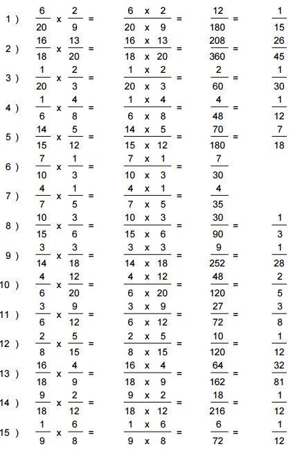 Resultado multiplicaciones dificiles